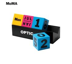 Colorful Perpetual Calendar! We have lots of Wonderful MOMA items