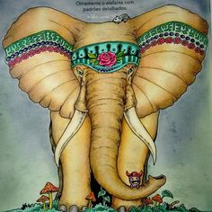 Olha o passo da elefantinha... Veja como ela é bonitinha... Turu, tururu #kerbyrosanes #animorphia #artecomoterapia #beautifulcoloring #boracolorirtop #colorindolivrostop #coloringbook #creativelycoloring #desafioscoloridos #desenhosparacolorir #enchantedcoloring #euamocolorir #florestaencantada2 #inspiracaojardimsecreto #jardimsecretoinspire #lostoceancolors #milliemarottabooks #oceanoperdidotop #reinoanimaltop