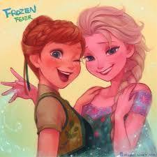 Frozen Fever Fan Art: Anna and Elsa Anna Frozen, Frozen Art, Frozen Movie, Disney Frozen, Frozen Queen, Queen Elsa, Disney Animated Films, Disney Films, Disney And Dreamworks