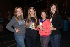 Ice cream with the girls