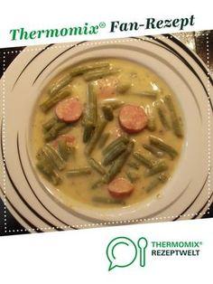 Grüne-Bohnen-Eintopf mit Mettwürstchen von Arwen. Ein Thermomix ® Rezept aus der Kategorie Suppen auf www.rezeptwelt.de, der Thermomix ® Community.