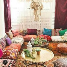 Pro Ideas for Bohemian Living Room | Hippie Boho Gypsy