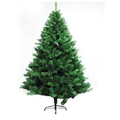 2.1m 800T PVC Material Pin Christmas Tree with Strong Iron Tripod -- You can find more details by visiting the image link.