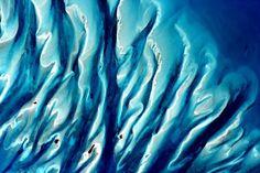 "Scott Kelly - NASA ""#Bahamas #EarthArt Watercolors! #YearInSpace""—via Twitter on Jan. 19, 2016."