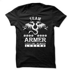 TEAM ARMER LIFETIME MEMBER - teeshirt dress #tie dye shirt #tshirt template