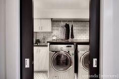 Dream laundry room designed by Melissa of Veranda Interiors