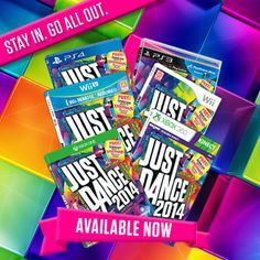 Just Dance 2014 is now available on all motion-control platforms!