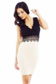 DELICATE LACE OVERLAY CONTRAST DRESShttp://shopmodmint.com/product/delicate-lace-overlay-contrast-dress/