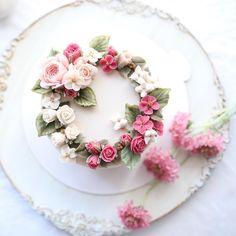 Beancream Flowercake 4th. Basic course _ #플라워케이크 #flowercake #플라워케익 #koreanflowercake #대구플라워케이크 #앙금플라워케이크 #앙금플라워떡케이크