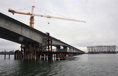Most Zemun-Borča od danas Pupinov most - Građevinarstvo