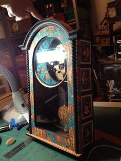 Steampunk Spells altered clock from Diane Schultz workshop! Amazing work! #graphic45 #alteredart #upcycling