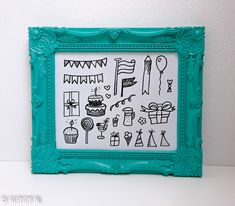 Feest   Letters & Doodles - SUSY DIY Doodles, Letters, Frame, Diy, Decor, Picture Frame, Decoration, Bricolage, Letter