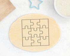 Escape Room Party: Puzzle Cookie Cutter from Rochaix Cookie Cutter