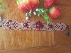 #bracelet #macrame #stone beads