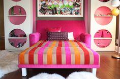 Resultado de imagen para colorful kids girls room