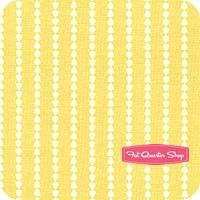 Oh Clementine Yellow Stripe by Cluck Cluck Sew for Windham