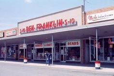 Ben Franklin Stores.