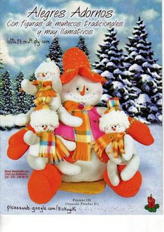 Foto: Christmas Stockings, Christmas Ornaments, Snowman, Teddy Bear, Holiday Decor, Pattern, Home Decor, Albums, Mary
