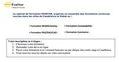 Formations WebMarketing, Comptabilité, E-Commerce, Informatique et PAO/DAO/CAO