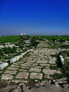 Roman Roads in Turkey. Also the background on my android phone.