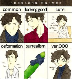 Sherlock.    That moment when you could totally spot the crossover in ver.000