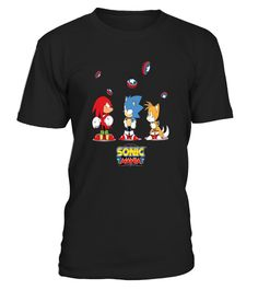 # Sonic Mania T-Shirt - Flying Bouncepads .  HOW TO ORDER:  1. Select the desired style and color:  2. Click the green button  3. Select size and quantity  4. Enter the shipping and billing information  5. Done! As simple as that!  TIPS: Buy 2 or more to save shipping costs!