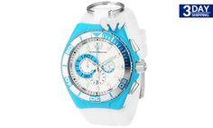 Get 31% #discount on Technomarine Unisex Turquoise Locker Chronograph Watch