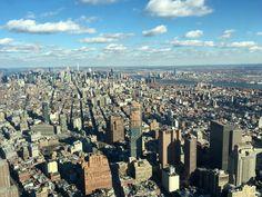 Aussicht vom One World Observatory - Manhattan