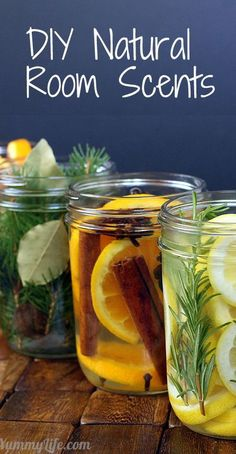 DIY Natural Room Scents. Add fragrance to your home using simmering waters infused with spices, herbs, & fruit.
