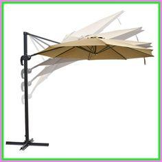 Enjoy exclusive for Leesons Inc 10 Feet Rome Outdoor Patio Umbrella Cantilever Hanging Offset Crank Tilt Pedal online - Seetopstar
