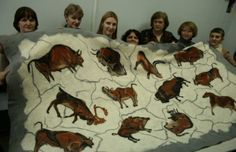FELT ART IN SIBERIA: Felted Blanket by Galina Brezhneva - Фантастическое одеяло Галины Брежневой