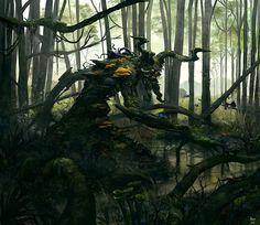 Swamp Elder 1 by *alexnegrea on deviantART