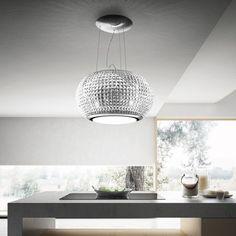 Elica: cappe ad isola con illuminazione | Cucina | Pinterest | Cappe ...
