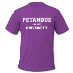 "Men's Premium T-shirt by American Apparel - Tee shirt American Apparel Homme - Collection ""Petanque University"" #extremeboules #pétanqueextrème #streetpetanque #urbanpetanque #extremebocce #petanque #petanca #jeuxdeboules #boules #bocce #bocceball #beautiful #fashion #pretty #fashionstyle #street #shirt #shopping #styleoftheday #comfortable #outfitideas #outfit #trendystyle #inspiration #unique #menswear #clothes #outfitoftheday #mensfashion #shop #boutique #beauty #streetstyle #purple"
