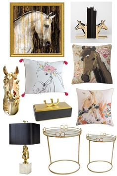 Decorate Your Home With Glamorous Equestrian Decor