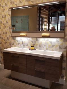 Opening the Door to Finer Living Bathroom Inspiration, Small Bathroom, Vanity, Doors, Mirror, Luxury, Powder, Furniture, Design