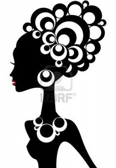 Google Image Result for http://us.123rf.com/400wm/400/400/beaubelle/beaubelle0810/beaubelle081000003/3658555-woman-silhouette-with-black-hair.jpg