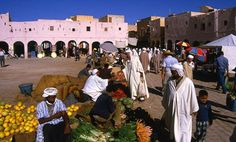 Africa: Mozabite berber market, Algeria