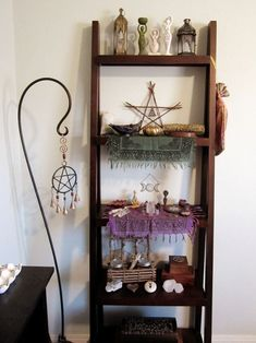 simple and gorgeous witch altar xo