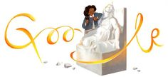 Edmonia Lewis was the first African American and Native American sculptor to achieve international renown. Google salutes her 110 years after her death.