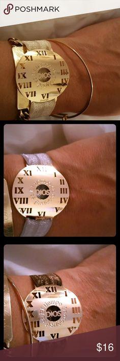Spotted while shopping on Poshmark: 18k gold plated statement bracelet! #poshmark #fashion #shopping #style #Jewelry
