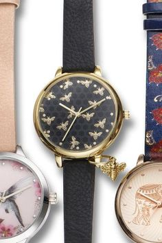 Buy Black Bee Strap Watch from the Next UK online shop