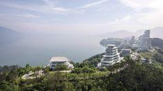 MAD's Huangshan Mountain Village mimics a Chinese mountain range