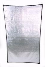 """42""""x72"""" Larson reflector, super silver"""