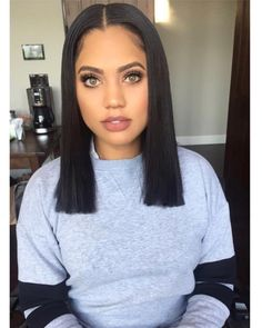 Wispy Stacked Layers - 30 Beautiful and Classy Graduated Bob Haircuts - The Trending Hairstyle Graduated Bob Haircuts, Asymmetrical Bob Haircuts, Choppy Bob Hairstyles, Long Bob Haircuts, Baddie Hairstyles, Black Hairstyles, African Hairstyles, Trendy Hairstyles, Brunette Bob