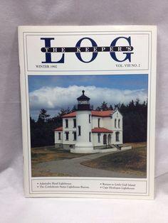 The Keeper's Log US Lighthouse Society Magazine Winter 1992