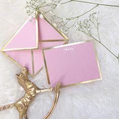Oh Baby Pink Card & Envelope