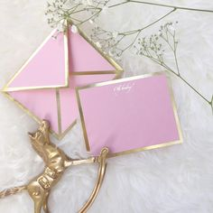 Oh Baby Pink Card & Envelope