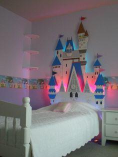 Cinderella Castle Bed