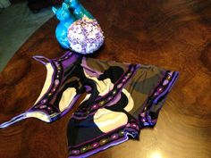 "#PUCCI purple silk #jersey ""#Baydoll"""